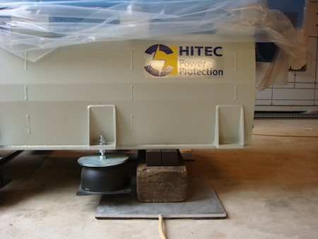 HITEC – RABO Boxtel  roterende No Break installaties